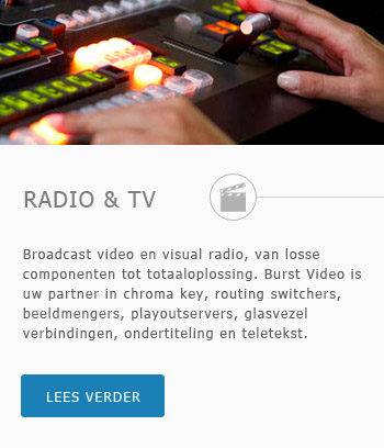 Broadcast video en visual radio